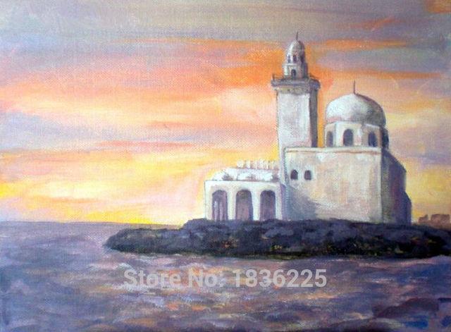 Paesaggi astratti paesaggi marini pittura su astratta tramonto ...