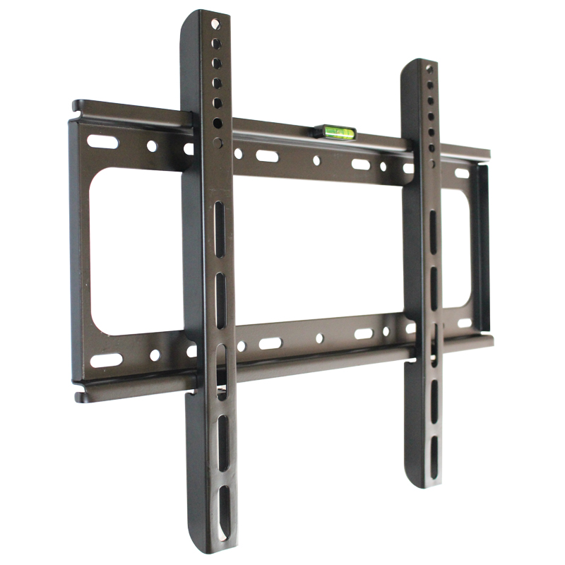 Practical TV Wall Mount Bracket Adjustable Pallet Fixed Flat Panel TV Stand Holder for Most 14 ~ 70 Inch HDTV support bracket wall mount case bracket holder for apple tv