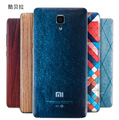 Nuevo diseño de moda de la batería contraportada casos para xiaomi mi4 M4 Teléfono Móvil 3D Alivio Personalidad Textura Cubierta de Batería de Respaldo case