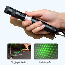 LED Flashlight 1000mw Laser 303 Green Power High Power Laser Torch light Led Night Light with 18650 Battery(China)