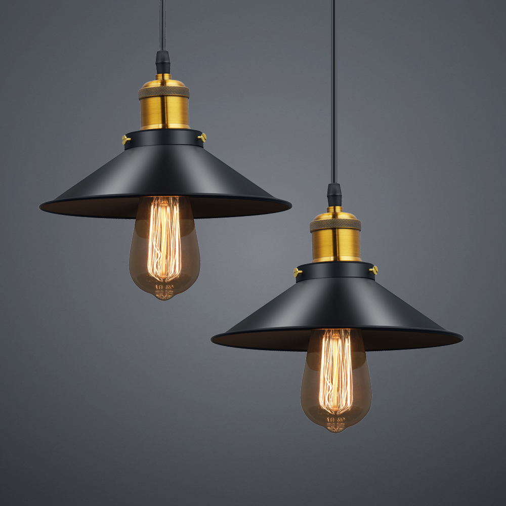 Russia Vintage Pendant Lights Retro Dining Pendant Lamp E27 Edison Black Hanging Lighting for Living Dining Room Christmas Decor russia culinary guidebook