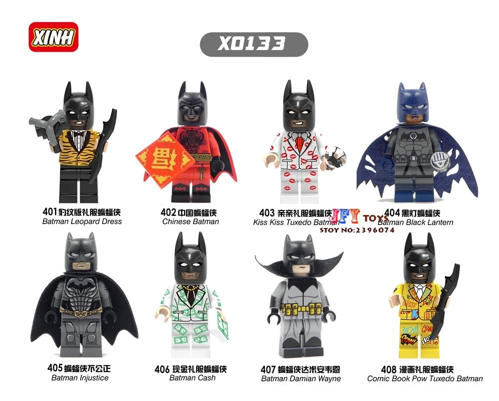 80pcs building blocks star wars super heroes Batman Harley Quinn Season bricks for baby house games kid children toys iluminador