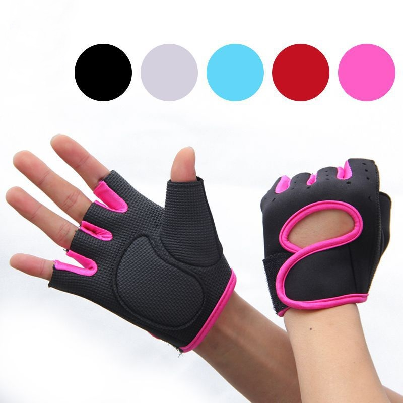 Half-Finger-Gloves Bike Cycling Anti-Slip Fitness-Training Girls Sports Kids Childrens
