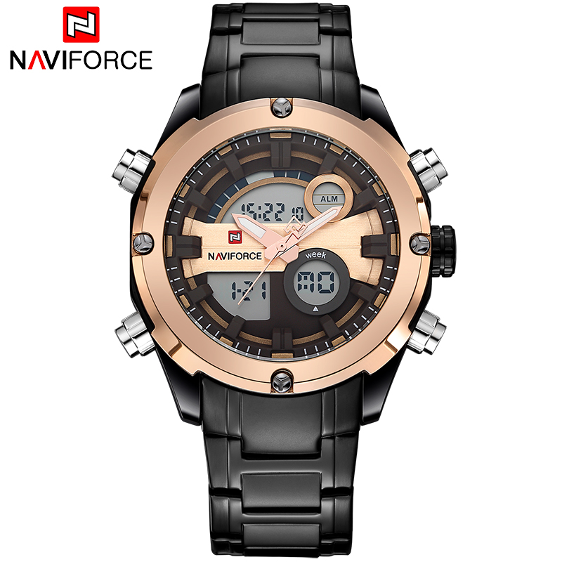Top Luxury Brand Men Sport Quartz Watches Men's Analog LED Clock Male Army Military waterproof Wrist Watch relogio masculino benyar luxury top brand men watches sports military army quartz wrist watch male chronograph clock relogio masculino gift box