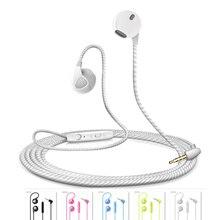 Универсальный hd mic спорт-вкладыши стерео музыку наушники наушники для xiaomi iphone 7 plus samsung htc sony huawei lenovo zte wiko asus