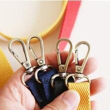 Sangle de sac à bandoulière réglable en toile, 130cm, accessoires de mode, remplacement de couleur bonbon, poignées de sac à main avec boucle