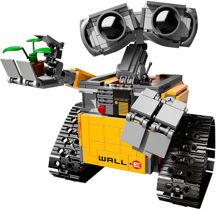 Lepin 16003 Ideas Robot Wall-E Building Assembling Blocks Bricks Educational Kid`s Toys Compatible with 21303 lepin 02012 city deepwater exploration vessel 60095 building blocks policeman toys children compatible with lego gift kid sets