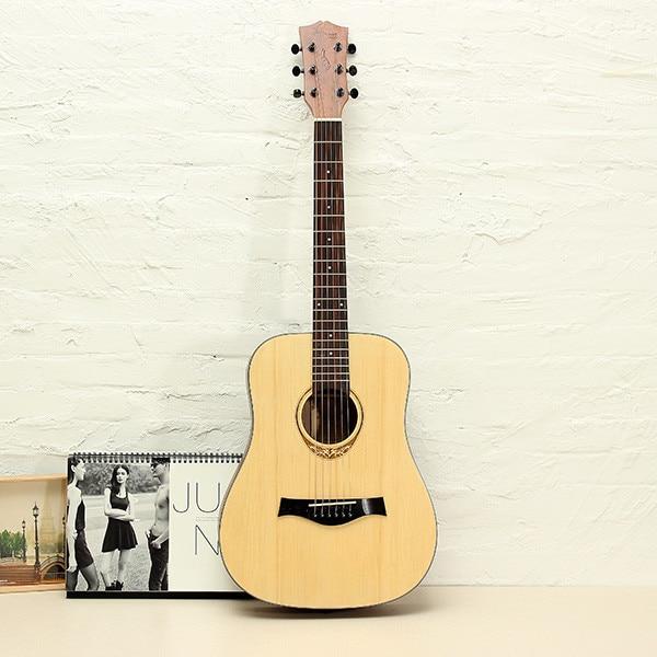 34 Amari AM-BABY 34-inch Rosewood Folk Acoustic Guitar With Gig Bag стоимость