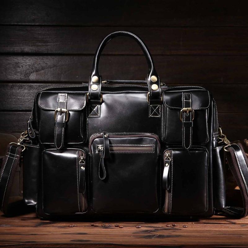 Leather  wholesale super cool leather mens bags crazy horse single shoulder oblique slanting travel bag 3061