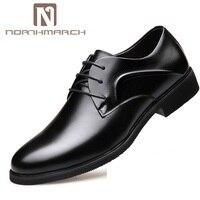 NORTHMARCH/Лидер продаж; мужская деловая обувь; сезон весна осень; свадебные мужские туфли оксфорды; Мужская обувь из натуральной кожи; Calzado Hombre