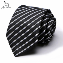 Joy alice Business striped Dot Tie for Men Wide 8cm Formal Neckties Casual Fashion Wedding Male Gift Suits Gravatas