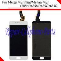 White Full LCD DIsplay Touch Screen Digitizer Assembly For Meizu M3s Mini Y685C Y685Q Y685M Meizu