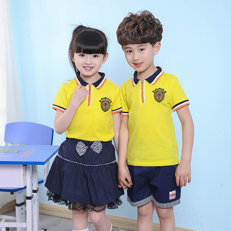 2018 New Summer Clothes for Twins Boys Girls Clothing Set Shirt Top Skirt Sports Suit for Kids Teenager School Uniform Costume