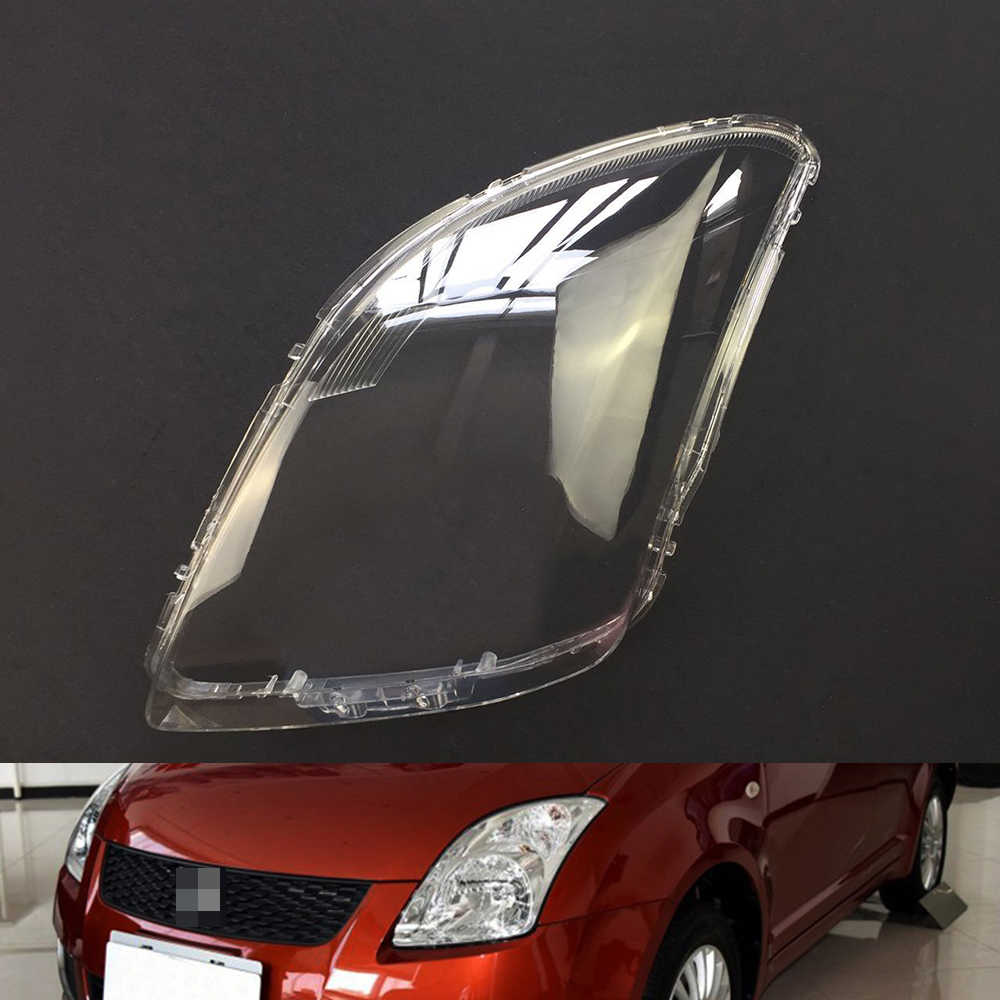 Voor Suzuki Swift 2005 ~ 2016 Auto Koplamp Koplamp Clear Lens Auto Shell Cover