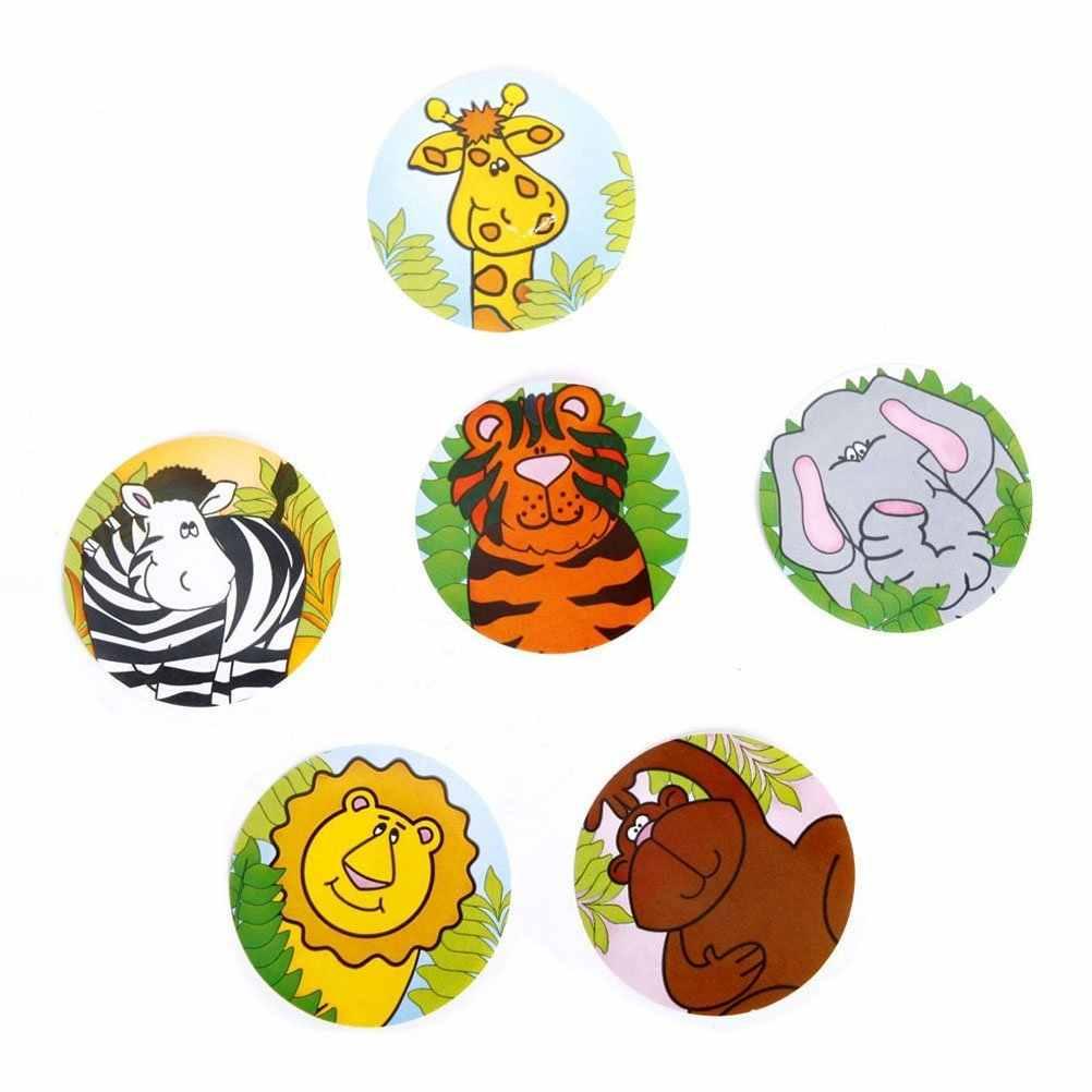 ملصقات على شكل حيوانات GCZW مثيرة ملصقات جدارية ملصقات جدارية وشم على شكل فيل وقرد على شكل حيوانات أسد الزرافة