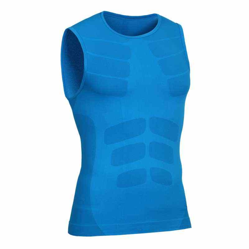 Men Workout Pro Gymming Shaper Top Vest Sporting Runs Yogaing Compress Body Fitness Beach Exercise T-shirts Tank T Shirts VA10