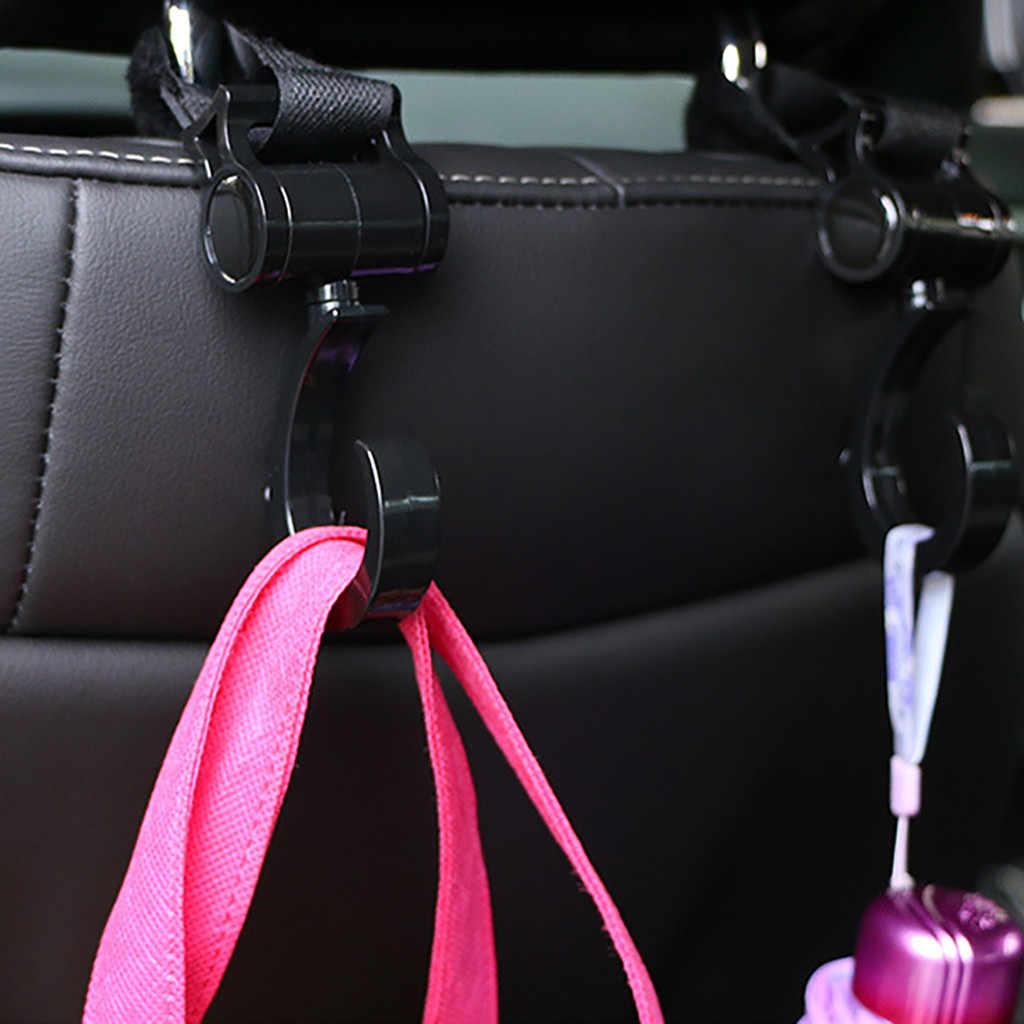 2 stks Kinderwagen Zakhouder Haak Sluiting Clip Metalen Karabijnhaak dragende Gesp voor Opknoping Luiertas Winkelen tas Rugzak H