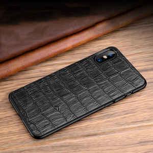 Image 2 - Чехол из натуральной кожи для Iphone X 11 12 Pro, чехол для XS Max SE 2020, противоударный чехол для Iphone XR 7 8 Plus 12Mini, чехлы