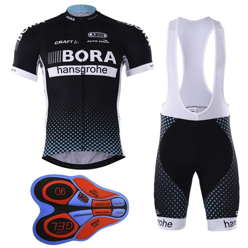 2017 Bora Team Summer DH Pro Sports Racing COMPETITION World UCI Tour Porto 9D Gel Cycling Jerseys Clothing FH--2