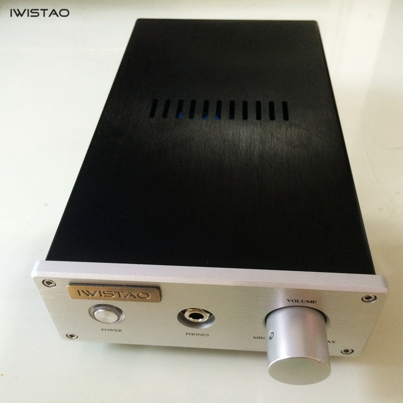 цена на IWISTAO Headphone Amplifier Pure HIFI Class A Amp Discrete Component Lehmann Upgraded Version Metal-sealing LM47910