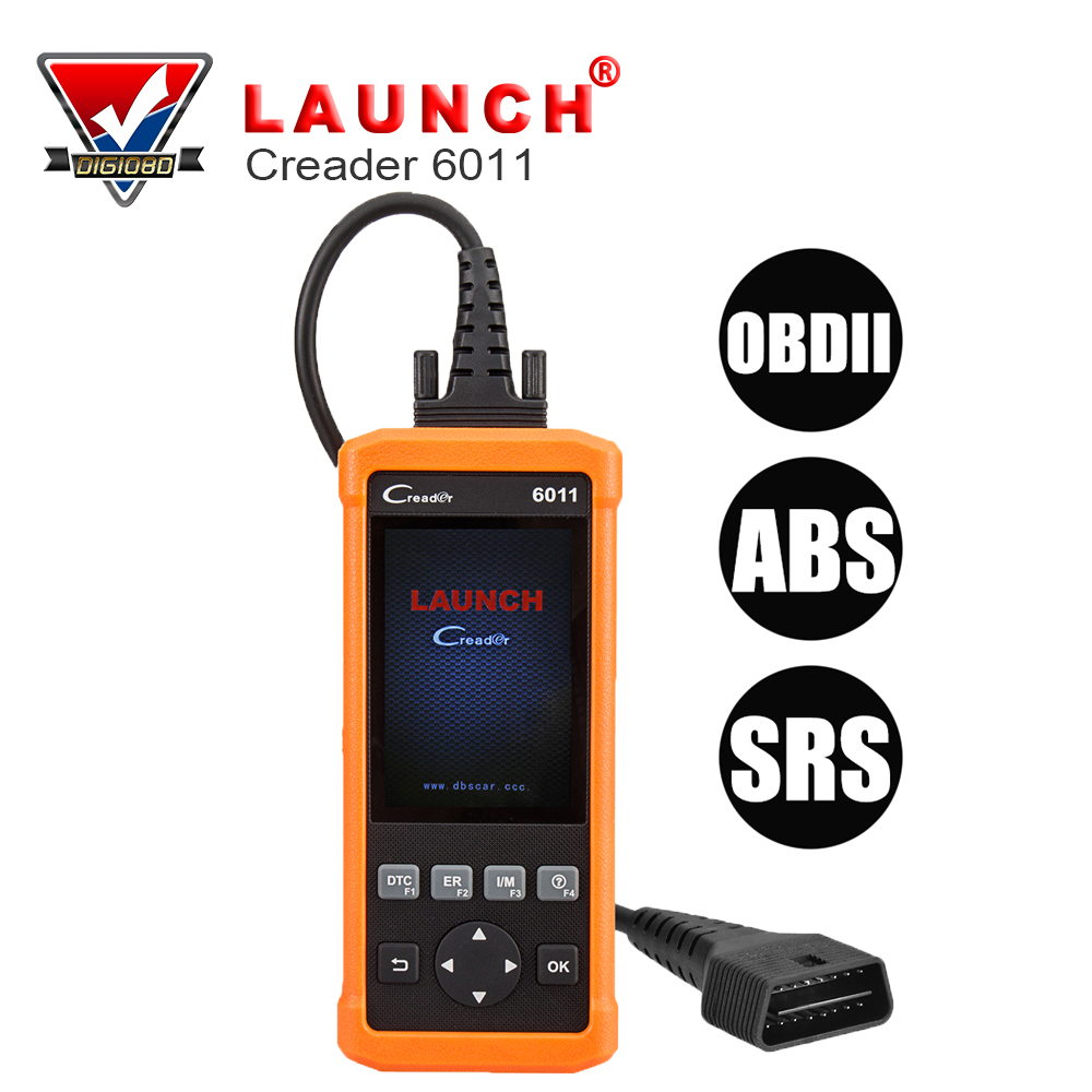 Launch CReader 6011 CR6011 OBD2 EOBD Code Reader Professional Auto ABS SRS Diagnostic Scan Tool Universal OBD 2 Scanner xtool ps100 obd2 car code reader trouble code reader