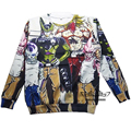 New fall Harajuku cartoon 3d sweatshirt jumper Dragon ball z Frieza Vegeta Goku sweatshirt hoodies pullovers outerwear