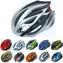 Hot ! New Bike Helmet Bicycle Cycling Helmet Ultralight Integrally-Molded Road Mountain 21 Air Vents Bike Helmet Free Shipping