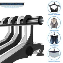 jiankun hanger is a new generation of travel folding hangers, made high quality ABS material, can be easily folded