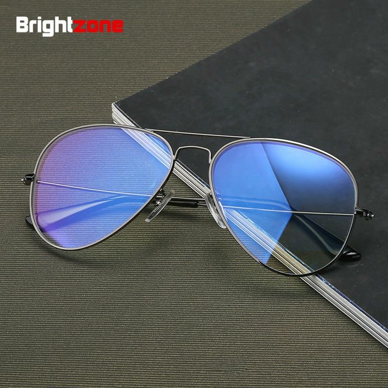 Brightzone Restore Vintage Pilot Ancient Ways Full Rim Frame Defence Blue Light Blocking Computer Defence Glasses Eyewear Goggle