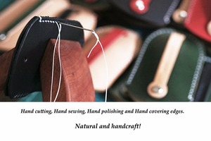 Image 5 - Da thật chính hãng Da Cá Tính Tặng handmade vintage móc treo chìa khóa túi ví Miễn phí khắc Móc Khóa Túi Ví túi 010