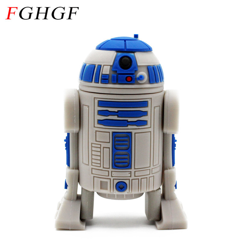 Buy fghgf star war pendrive series r2d2 - Robot blanc star wars ...