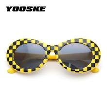 288e53bc1b3 YOOSKE Clout Goggles Glasses NIRVANA Kurt Cobain Sunglasses Men Vintage  Retro Women Oval Sun Glasses Women s