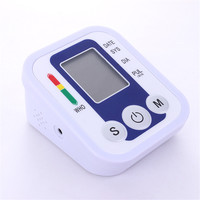2018 Hot Health Care LCD Digital Arm Wrist Automatic Digital Blood Pressure Monitor Heart Rate Monitor Meter Medical Equipment
