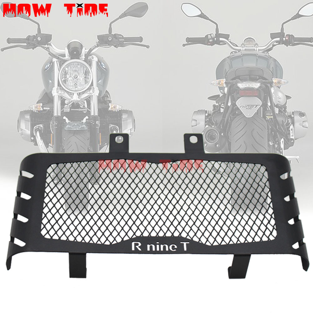 Motorcycle Oil Cooler Guard Cover NINE-T 9T For BMW R ninet 2014-2017