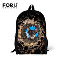 Super Cute Animal Dog Head Printing Children Bags 16 Inch School Bags for Kids Mochila Infantil Schoolbags Casual Women Backpack