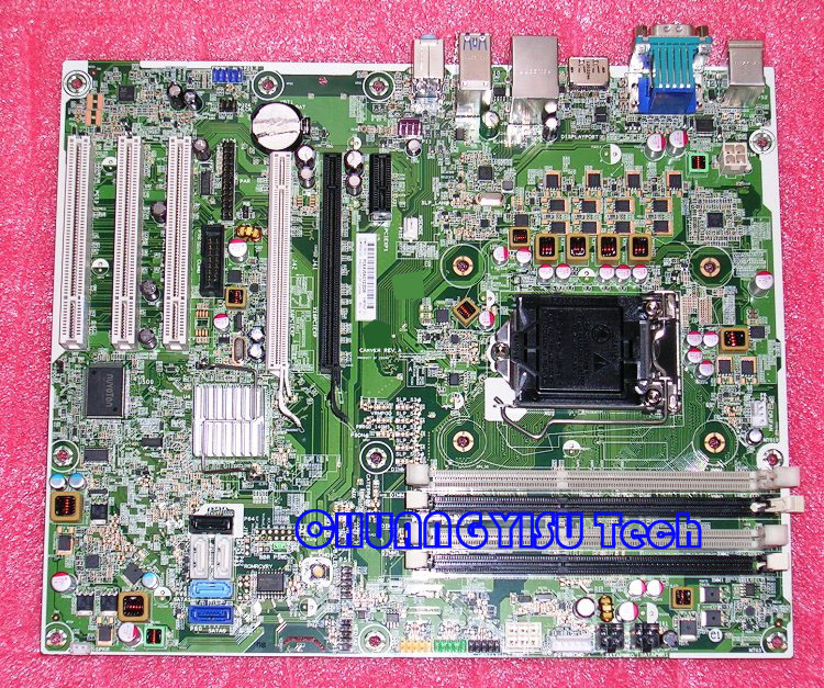 US $53 9 |Free shipping CHUANGYISU for original Elite 8300 MT PC  motherboard,657096 001,656941 001,Q77,s1155,DDR3,work perfectly-in  Motherboards from