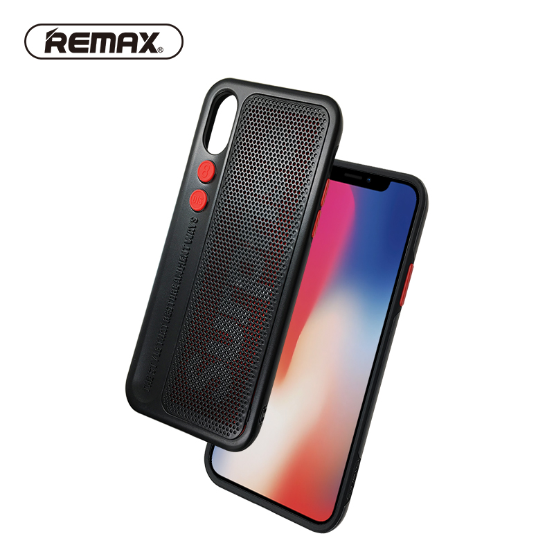REMAX Original Design <font><b>Phone</b></font> <font><b>Case</b></font> for IPhone X Colorful Absolute Protection Anti-knock Back Cover for iPhone 10 Christmas <font><b>Case</b></font>