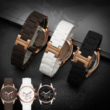 20mm 23mm Steel Rubber Silicone Watch Band Apply to Armani AR5905 AR5906 AR5919 AR5920 Watches Wrist Strap Watchband Rosegold все цены
