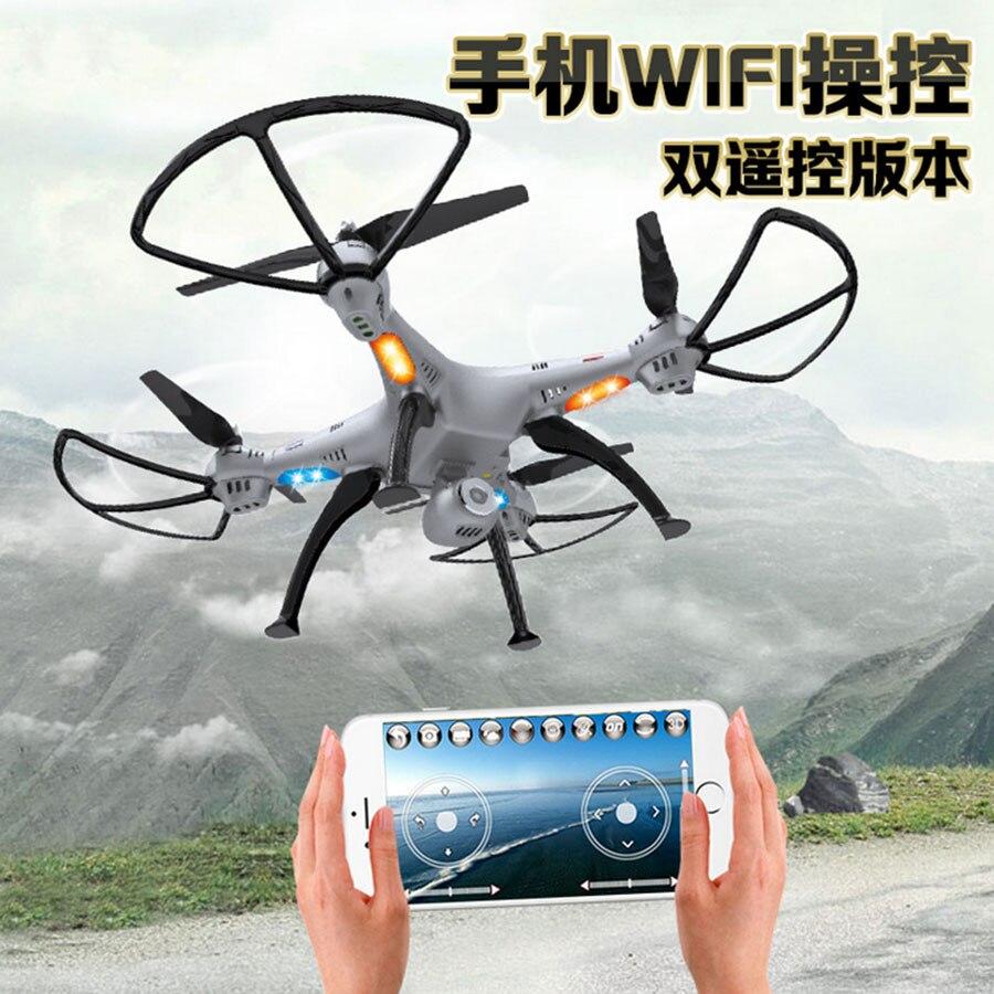 Segunda generación K800C FPV helicóptero Del Rc 2.4G 4CH 6-Axis Con 0.3MP WiFi C