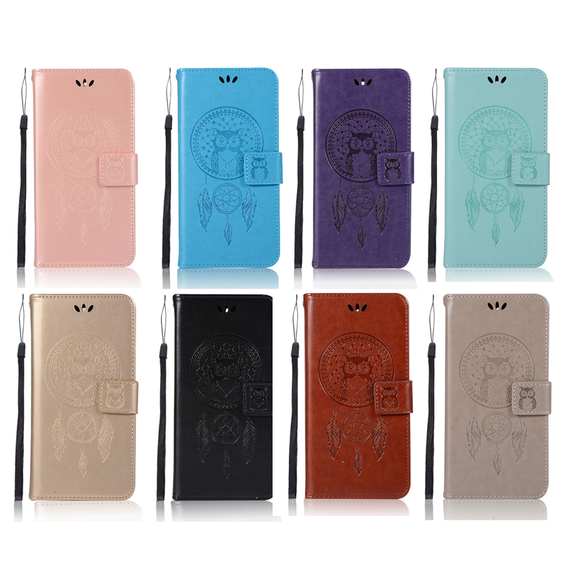 Coque Owl Wallet Cover For Nokia 5 Luxury Flip PU Leather+TPU Case For Nokia 5 5.2 inch Case Phone Fundas