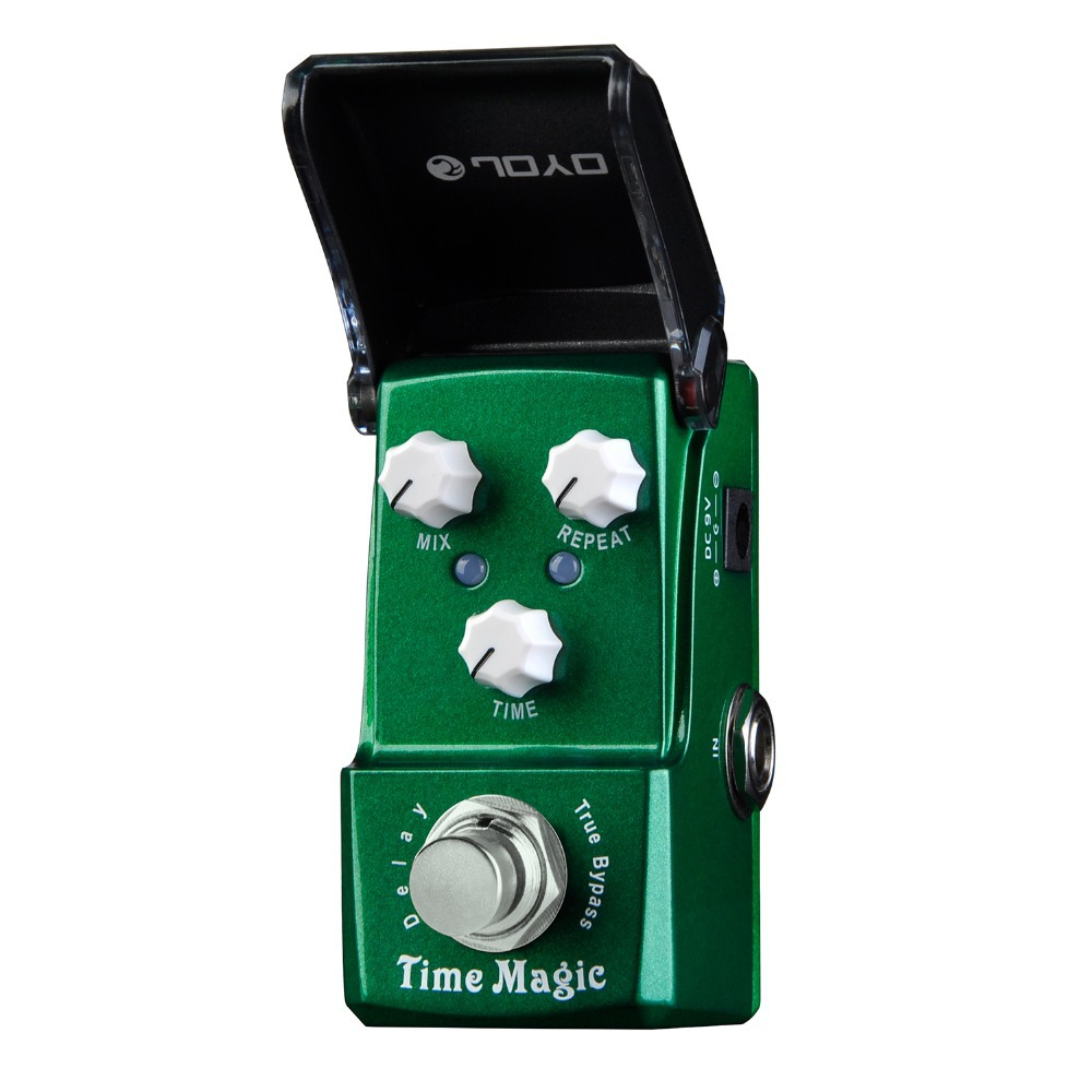 Joyo Ironman Time Magic Delay Electric Guitar Effect Pedal True Bypass JF-304 JF304 joyo jf 304 new product time magic delay mini smart effect pedal analog sounding digital delay 600ms ture bypass free shipping