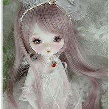 bjd sd dolls Leeke Chloe 1/6 body model reborn girls dolls eyes High Quality toys