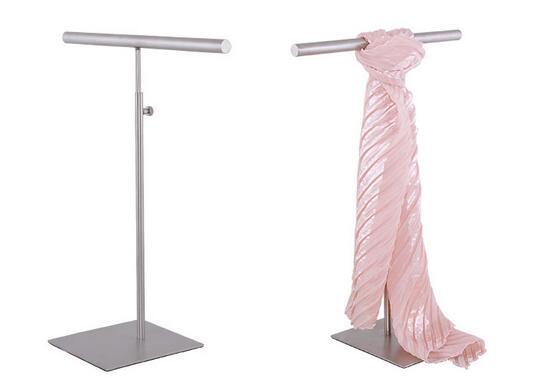 Multifunction simple stainless steel Silk Scarf <font><b>display</b></font> rack Wraps Shawl Necktie Tie purse handbag <font><b>display</b></font> stand holder rack