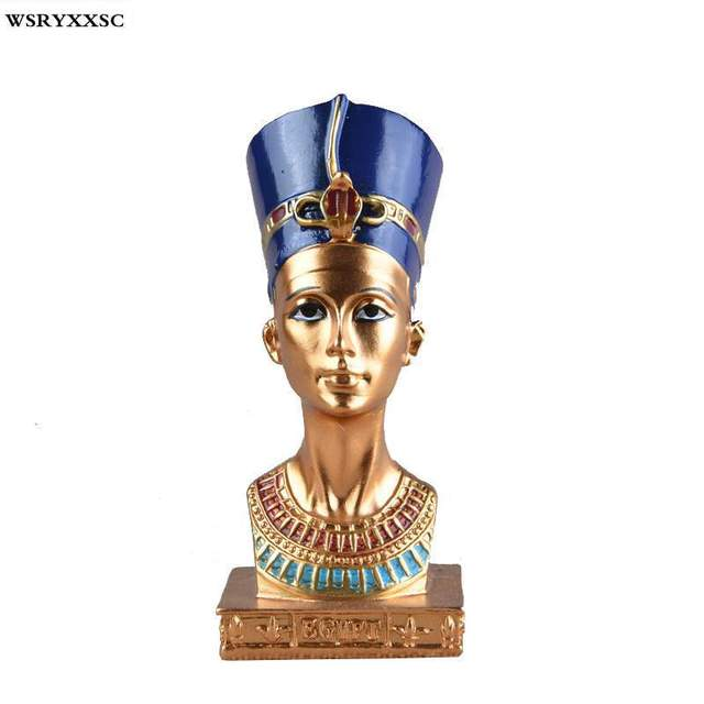 Egyptian Queen Resin Decoration, Creative Home Decoration, Resin Crafts, Souvenirs