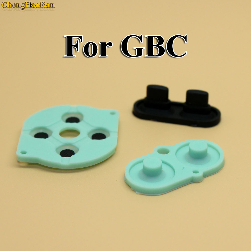 Image 3 - 2   10 sets For Nintendo Game Boy Color/Colour Button Silicone Rubber Pad Conductive A B Select Start Rubber Button For GBC-in Replacement Parts & Accessories from Consumer Electronics