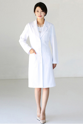 High-end Korean plastic surgery hospital doctor white coat lab wear nurses dental wear beauty salon uniform
