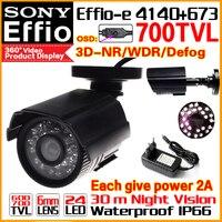 Real 1 3 Sony CCD 700TVL Effioe Mini Hd Surveillance Cctv Camera OSD Menu Waterproof IP66