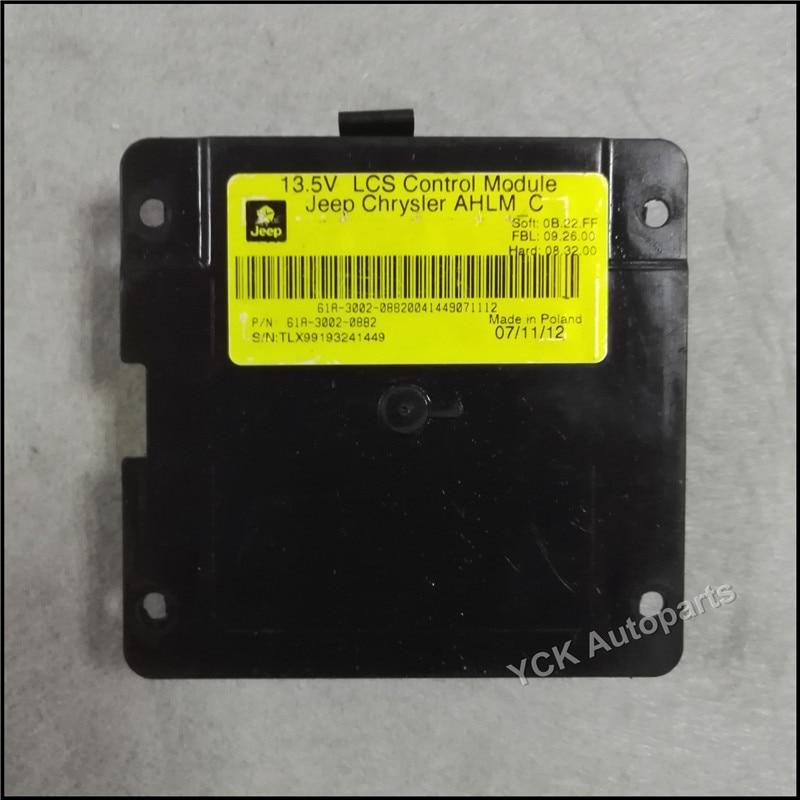 ФОТО Wholesale Original Va leo 13.5V LCS Control Module AFS Module For Jee-p Chrysler AHLM C 61A-3002-0882 61A30020882