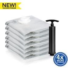 цены Vacuum Bag with Pump Clothe Storage Bag Space Saver Bag Save Wardrobe Space