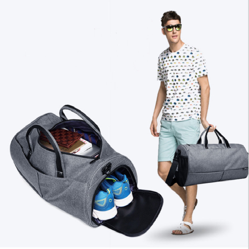 Duffle-Bag Handbags Weekend-Bag Tote-Shoulder Waterproof Portable Women Blue Black Big